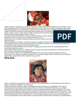 Etnias mayas de guatemala