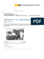28. Main Pump (Flow) - Test - Constant Horsepower Flow Control