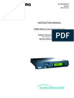 Operations Manual Tandberg E5500 Encoder