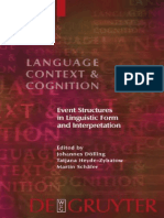 Dölling etc., Language, Context, and Cognition