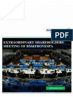 Extraordinary Shareholders' Meeting - 05.20.2016 - Practical Guide