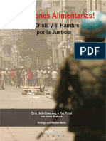 Holt-Giménez y Patel. Rebeliones Alimentarias