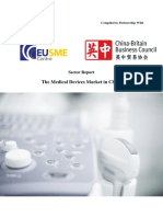 EU SME Centre Report - The Medical Devices Market in China (May 2015)