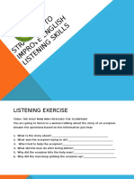 Strategies to Improve English Listening Skills