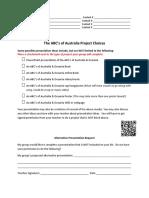abcs of australia   oceania group instructions