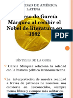 La Soledad de América Latina. Presentación.
