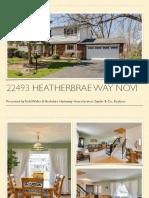 22493 Heatherbrae Way Novi MI