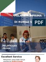Pelayanan Prima Di RS