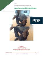 A research proposal on multiple intelligence by nkoyoyo edward of ekitangaala transformation high school