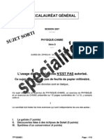 s-physique-chimie-specialite-2007-metropole-sujet-o
