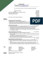 secondary ed resume copy