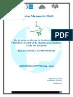 Mennonite Rapport d Activites 2015[1]