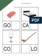 Fichas Lecto Fonológicas M P