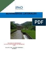 Aliviaderos Laterales Informe