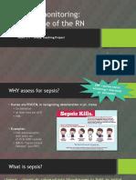e-portfolio sepsis ppt