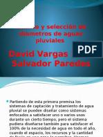 Calculo y Selección de Diametros de Aguas Pluviales