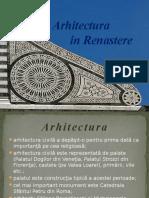arhitectura în renaştere