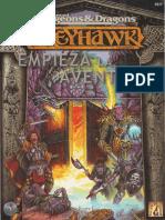 AD&D - Greyhawk - Empieza La Aventura