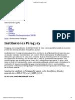 Instituciones Paraguay _ Reach