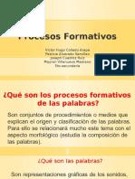 Procesos Formativos