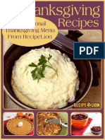 22 Easy Thanksgiving Recipes A Traditional Thanksgiving Menu From RecipeLion.pdf