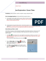 9 ocean tides explore learning gizmo