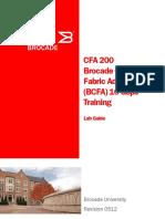 Brocade BCFA 16 Gbps Training