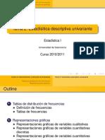 Tema2 Estadística Descriptiva Univariante