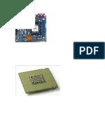 Placa y Microprocesador