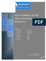 D2.04 Collation of Offshore Wind-Wave Dynamics