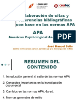 Presentacion APA 2009