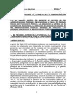 1.1 El Régimen Jurídico Del Personal Al Servicio de Las AAPP