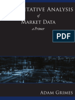 Quantitative Analysis of Market Data a Primer
