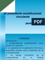 DER.proc.CONSTITUC Precedente Vinculante