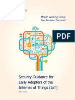 Security Guidance for Early Adopters of the Internet of Things Bnyoey