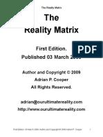 The Reality Matrix