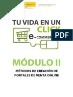Módulo II - Métodos de Creación de Portales de Venta Online Wordpress
