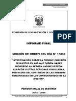 Agendas de Nadine - Informe final