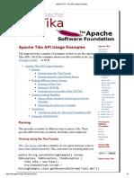 Apache Tika API Usage Examples