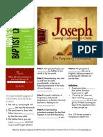 Joseph 17 Gen 45-1-15 Handout 042416
