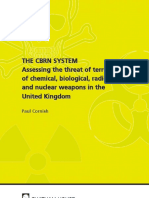 Assesing Cbrn Threat in UK