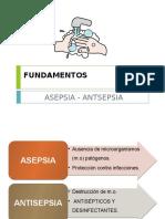 ASEPSIA - ANTISEPSIA