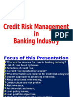 Credit Risk Management Lecture