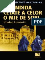 Khaled Hoseini Splendida Cetate a Celor 1000 de Sori