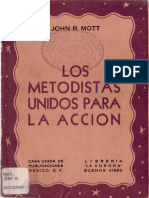 Los Metodistas Unidos Para La Acción Nuevo