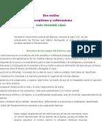 Culteranismo y El Conceptismo de Luis de Góngora y Francisco de Quevedo. Trabajo de Monica