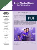 2015 post-walk newsletter