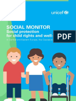 Social Monitor Regional Report by UNICEF
