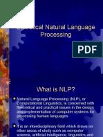 Statistical NLP