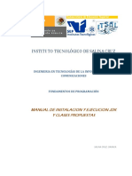 Guia de instalacion y clases propuestas